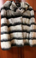 Шуба шиншилловый кролик, платье с пайетками instyle 10422, Ахтубинск