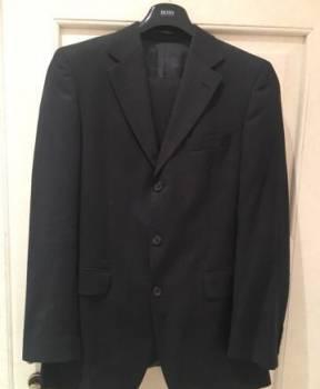 Рубашка оксфорд с пиджаком, мужские вещи