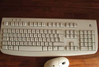 Клавиатура Logitech, мышь Logitech, Receive WI-FI