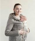 Куртка для беременных 2 в 1, синее платье с белым бантом спереди шанель, Новогуровский