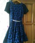 Платье, черное платье с воротником хомут, Волгоград