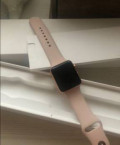 Apple Watch 3 rose gold 42 mm, Черный Яр