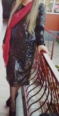 Платье, платье черно синее золотисто белое, Чонтаул