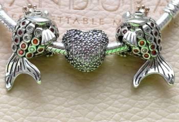 Шармы серебро Пандора, новые коллекции