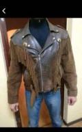 Байкерская куртка (косуха), купить мужское пальто на зиму, Тюбук