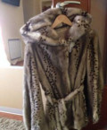 Платье для росписи зимой, норковая шуба, Челябинск