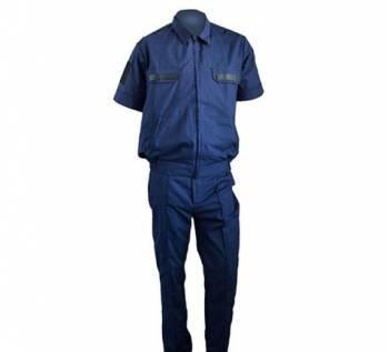 Мужской костюм пьер карден, форма военная темно-синяя летняя