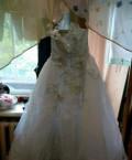 Платье комбинация голубое, свадебное платье, Мурмино
