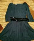 Платье женское, платье из бифри синее, Брянск