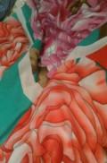 Большой теплый красочный платок, Кизилюрт