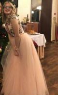 Женское платье в морском стиле, платье вечернее, персиковое, Лев Толстой