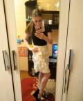 Свадебное платье короткое беременным, платье, Псков