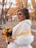 Шуба, накидка, манто для невесты. Прокат, кофта россия найк, Пенза