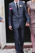 Мужской костюм, мужской костюм синий с отливом, Тамбов