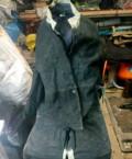 Кожаная куртка с капюшоном мужская зимняя, сварочная роба зимняя, Югорск