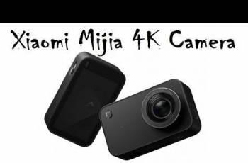 Экшен камера Xiaomi Mijia 4K