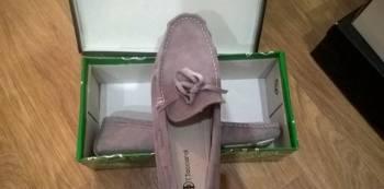 Мокасины новые. Нубук, интернет магазин обувь сказка