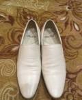 Продам ботинки размер 42 из белой кожи, мужские сапоги nike, Евлашево