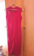 Верхняя зимняя одежда сшитая мехом наружу, платье, Ишеевка