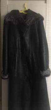 Куртки с мехом шиншиллы, дубленка натуральная