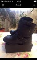 Продаю кожаные ботинки Mango, убираем обувь на зиму, Горячеводский