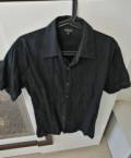 Рубашка Calvin Klein короткий рукав, модные бренды джинсовой одежды, Смоленск