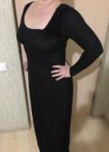 Чёрное платье Yudashkin jeans, красивые платья из бархата и шифона, Москва