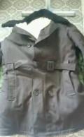 Пальто мужские с капюшоном, пальто зимнее темно -коричневое, безрукавка мехова, Кувандык