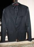 Пиджак из Италии, р.46, черная толстовка с капюшоном без молнии, Октябрьский