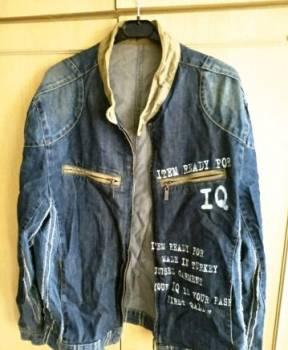 Куртка джинсовая р-р 48-50, мужское термобелье с шерстью