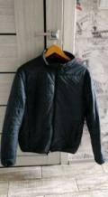 Белая джинсовая куртка мужская, куртка, Новоалтайск
