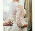 Халат женский домашний теплый, свадебное платье, Теплое