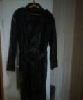 Куртка мужская осенняя черная, продам плащ, Пятигорск