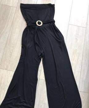 Одежда российских дизайнеров недорого, комбинезон и джинсовая юбка