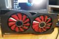 XFX RX 570 4GB, Индерка