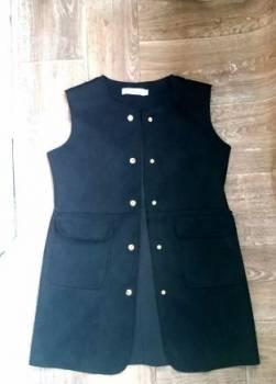 Продам новую длинную жилетку, недорогая женская одежда с быстрой доставкой