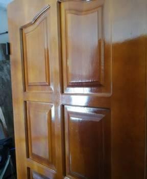Продается входная деревянная дверь (б/у)