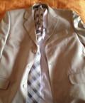 Костюм бежевого цвета, рубашка, галстук, одевали один, мужские шорты турция, Мариинский Посад