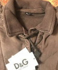 Новая толстовка Dolce Gabbana оригинал, модная мужская одежда для фитнеса, Дмитриевское