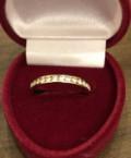 Новое золотое кольцо с бриллиантами, размер 16, Тюльган