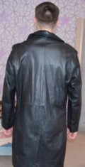 Кожаный плащ, мужские пиджаки asobio, Тында