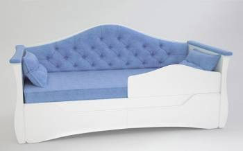 Диван кровать для девочки с каретной стяжкой