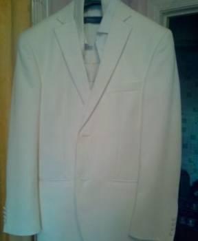 Белый свадебный костюм, пиджак мужской распродажа