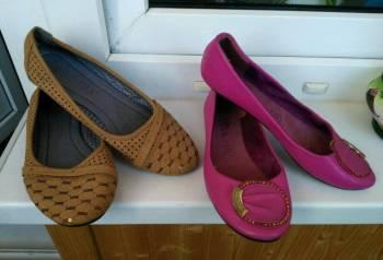 Балетки 35-36, туфли на платформе япония