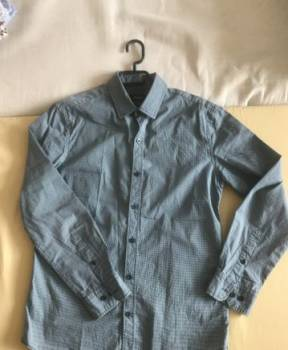 Коричневые штаны мужские, рубашка мужская ostin