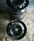 Штампованные диски, купить стальные диски на киа рио 2012, Новосибирск