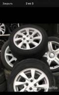 Колеса на авто 14 цена, поменяю Колеса атика на такие как на фото, Новый Хушет