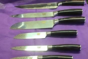 Продам набор японских кухонных ножей дамаск хy (6ш