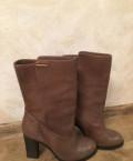 Сапоги демисезонные в отличном состоянии, размер 4, зимние кроссовки для девушек, Хабаровск
