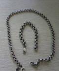 Цепь и браслет серебро, Кардымово